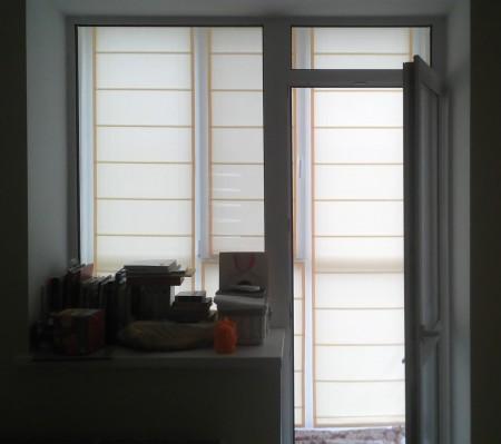 balkon rimskie shtori Roletta Vishhorod