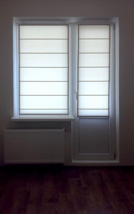 roman blinds balkon Roletta Vishhorod
